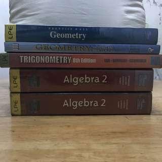High school textbooks