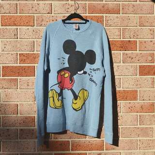 Crying Mickey Mouse Sweater - FREE POSTAGE AUS WIDE