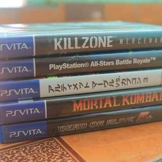 Ps Vita Games and Memory Card
