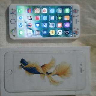 Apple Iphone 6S Plus 64Gigs Gold Newly Replaced LCD with Box