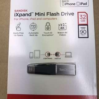 Sandisk iXpand 32GB Mini USB 3.0