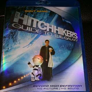 Hitchhiker Guild To The Galaxy Blu Ray Disc For Sale