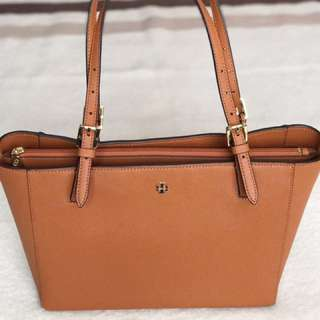 AUTHENTIC TORY BURCH YORK SMALL BUCKLE TOTE BAG