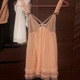甜美睡衣 橘粉色