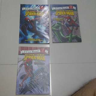 I Can Read - Spiderman Children's Books