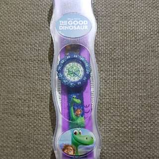 BN Swatch Flik Flak Good Dinosaur Watch