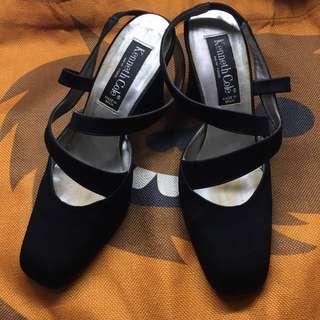 Kenneth Cole black heels size 7