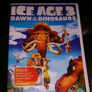 Ice Age 3 Dawn Of The Dinosaurs DVD For Sale