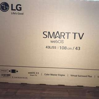 "LG 43LJ55 43"" SMART LED TV (BNIB)"