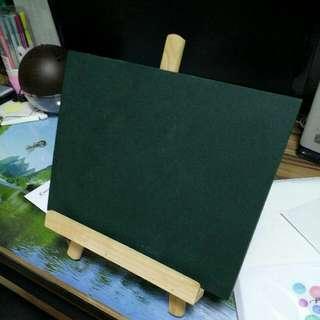 小黑板連木架