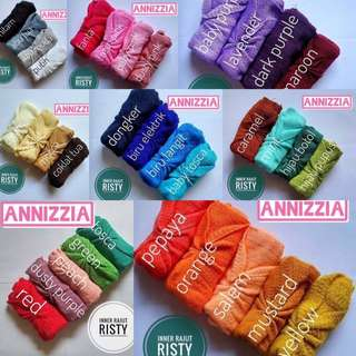 @17rb Ciput Rajut Anti Pusing Model risty ( Kerut )