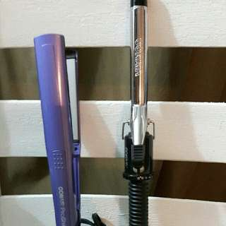 Flat Iron And Curling iron