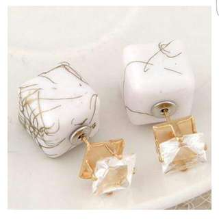 Anting Marmer - Marble Anting Tusuk (NEW!)