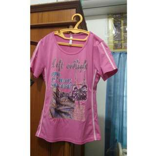 Pink T Shirt Cotton High Quality