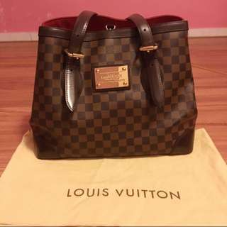 ⬇️Reduce price ⬇️💯%Authentic Louis Vuitton Hampstead MM Damier Ebene