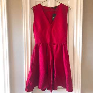 MAJE red dress authentic size 1