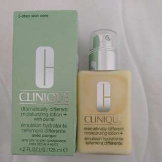 🌻Clinique🌻Dramatically Different Moisturizing Lotion + with pump🌻✨(NIB)✨