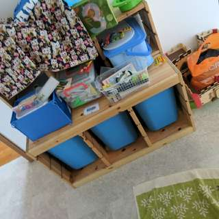 Toy And Storage Cabinet