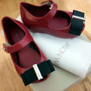 Mini Melissa Ultragirl +Jason Wu Red Size USA 5