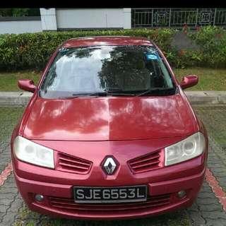 Grab & Uber ( Renault Megane )