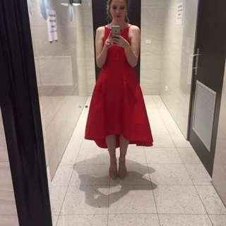 *RENT* Red formal dress