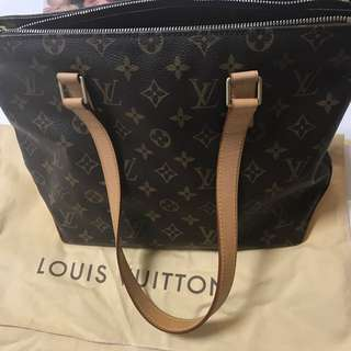 LV monogram zipped shoulder bag (Tote)
