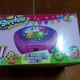 Shopkins - CD Boombox (110V)