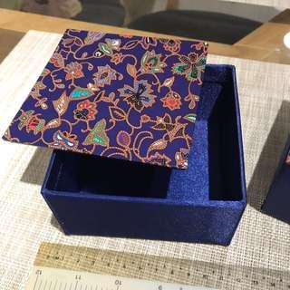 Blue Batik Gift Box