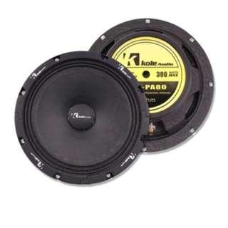 Kole audio 8inch pa mid bass kps-pa80