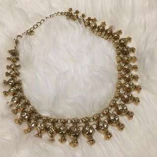 ZARA Round Gold Necklace