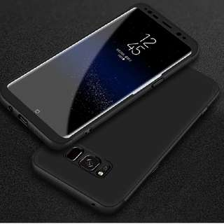 Samsung S8 FULL Protection cover (BLACK)