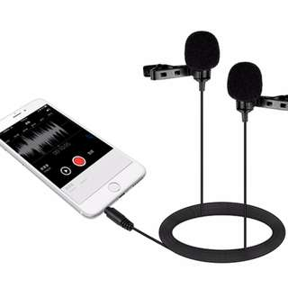 Boya BY-LM400 Dual Omnidirectional Lavalier Mic for Smartphone LM400