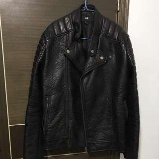 H&M 仿皮外套 , Size:52