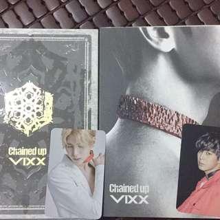 VIXX Chained up 台壓兩版不分售