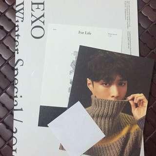 EXO For Life 韓版 (僅拆開確認小卡)