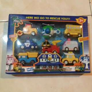 Robocar Poli 8 In A Set New In Box