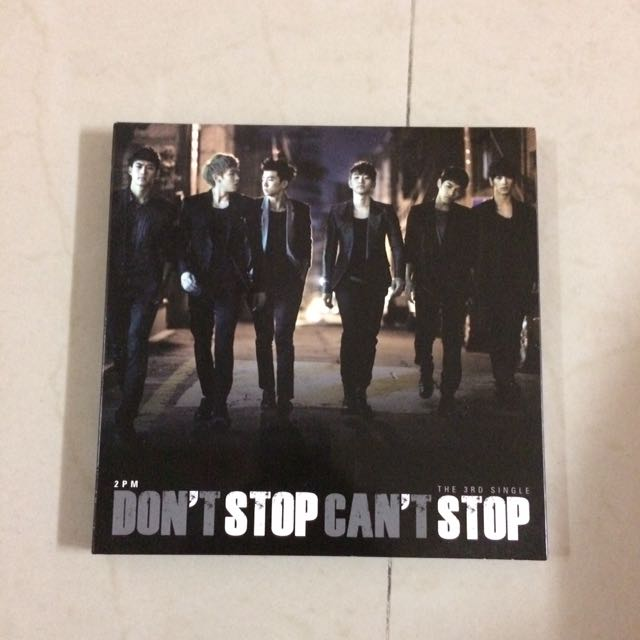 2pm Don't Stop Can't Stop Album