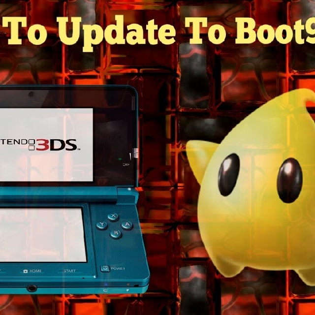 3DS A9LH To Boot9strap (b9s) Update MOD