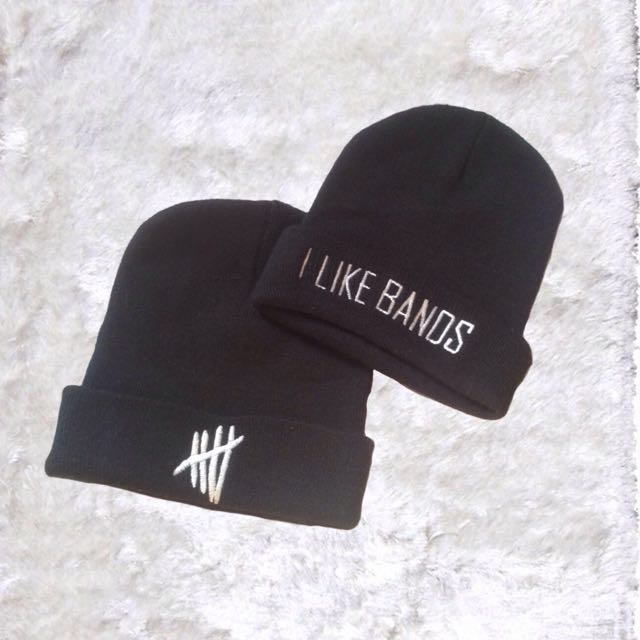 5sos Embroidered Beanie/s