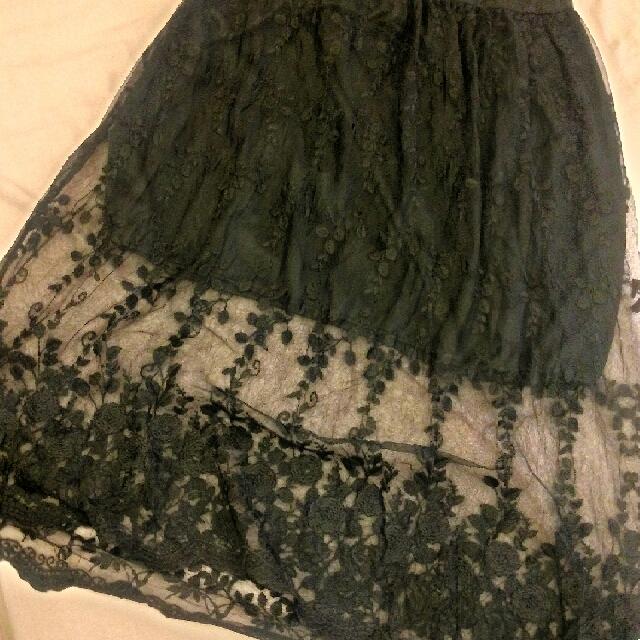 黑色蕾絲內搭洋裝
