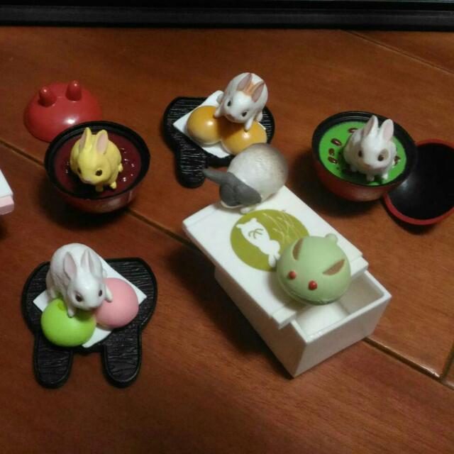 日本中秋食玩 扭蛋