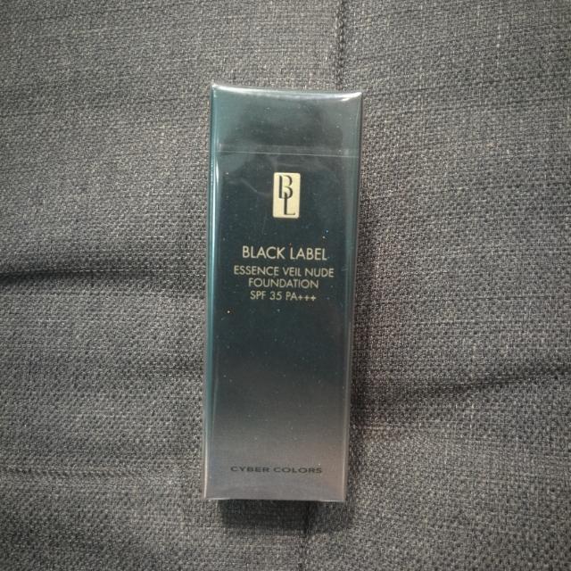 ( Cyber Colors ) Black Label Essense Veil Nude Foundation SPF 35 PA+++
