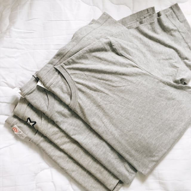 Acid gray shirt (4 pcs)
