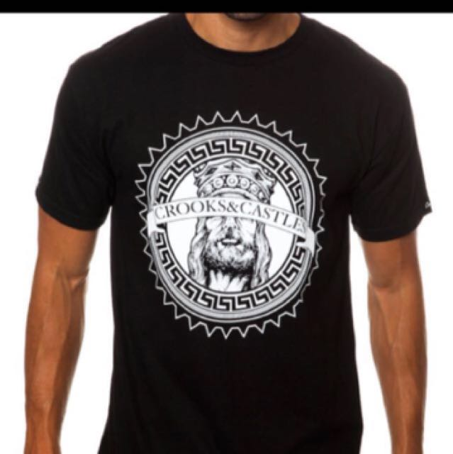Authentic Crooks and Castle Graphic Tee