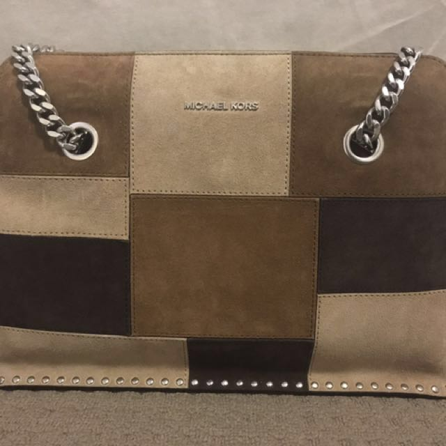Authentic* Michael Kors Astor Large Satchel Bag