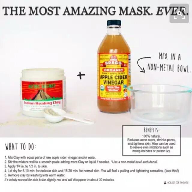 Aztec Indian Healing Clay Mask Masker Share 50gr Free Gratis Ongkir
