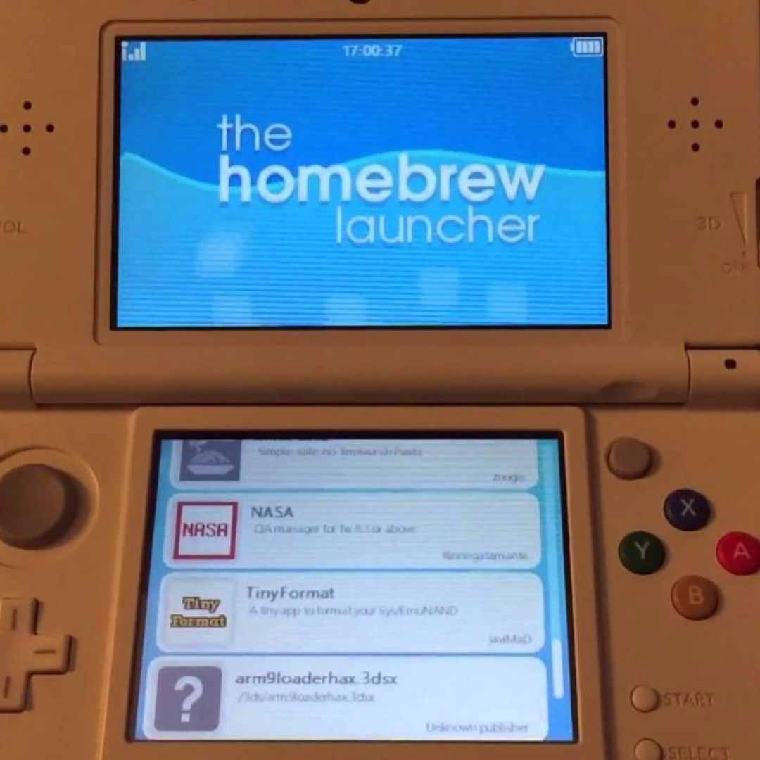 Nintendo 2ds Xl Modded W Cfw Luma 3ds Homebrew Charger New Ll Pink White 16gb Photo
