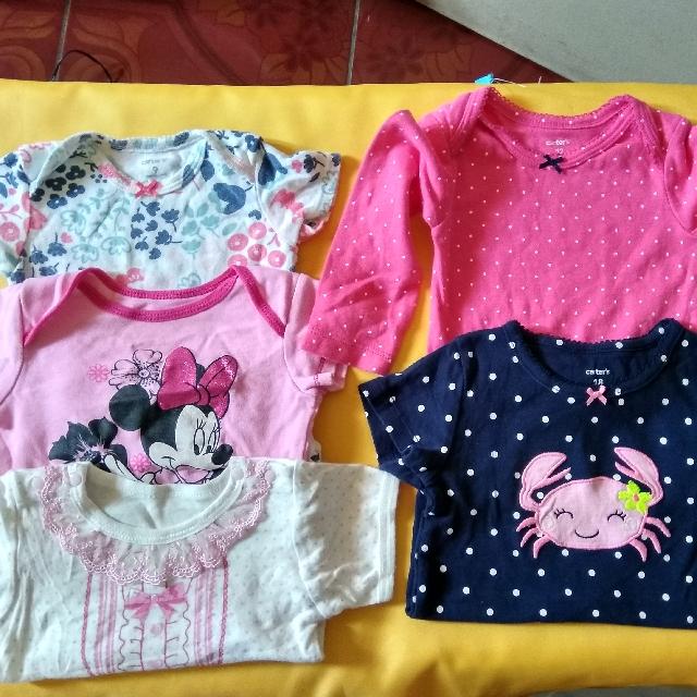 10pcs Baby Girl Onesies