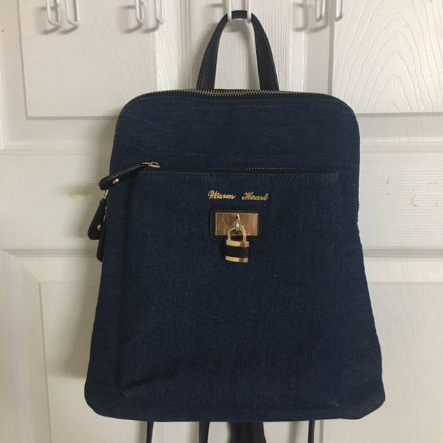 Backpack Canvas/faux Leather