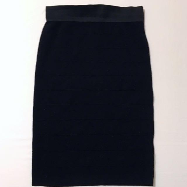 Black Tight Bandage Skirt
